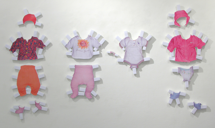 Michael Sardelic - Dress Stories, Layers No 2 , Ried, 2009