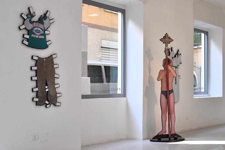 Michael Sardelic - Dress Stories, Layers No 37 , Turin, 2011