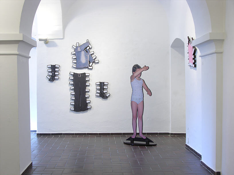 Michael Sardelic - Dress Stories, Layers No 54 , Ried, 2009
