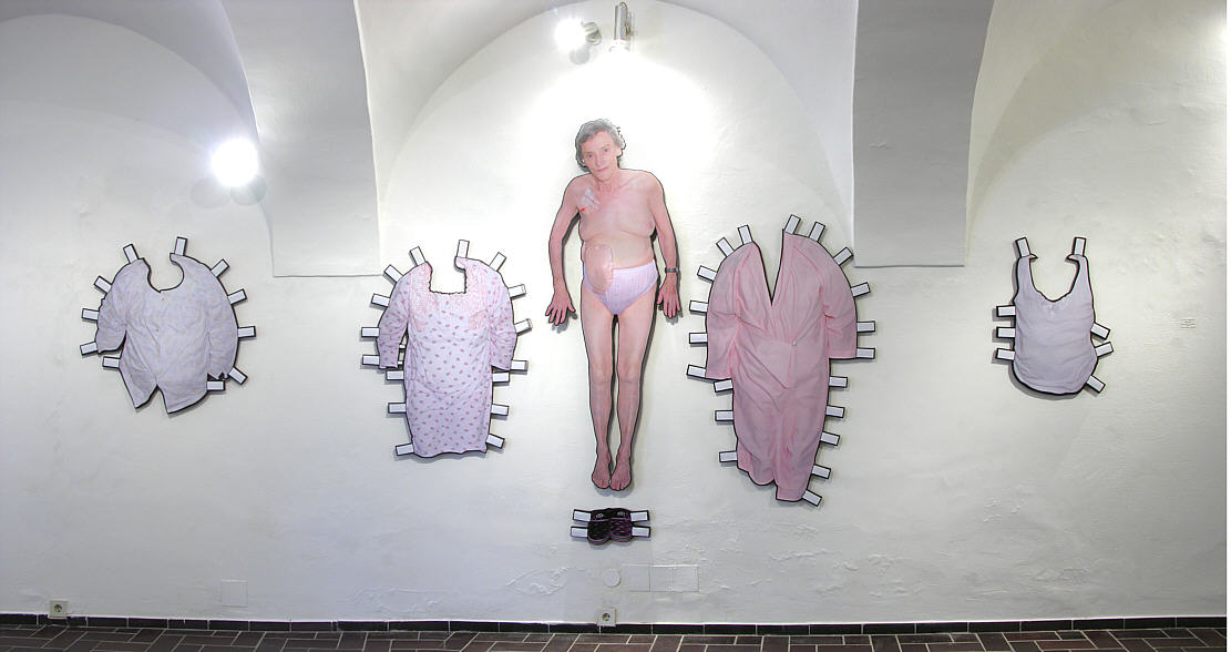 Michael Sardelic - Dress Stories, Layers No 26a , Ried, 2009